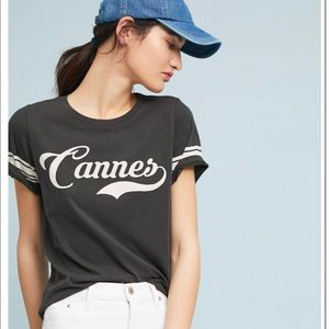 Sol ángeles Cannes graphic tee shirt